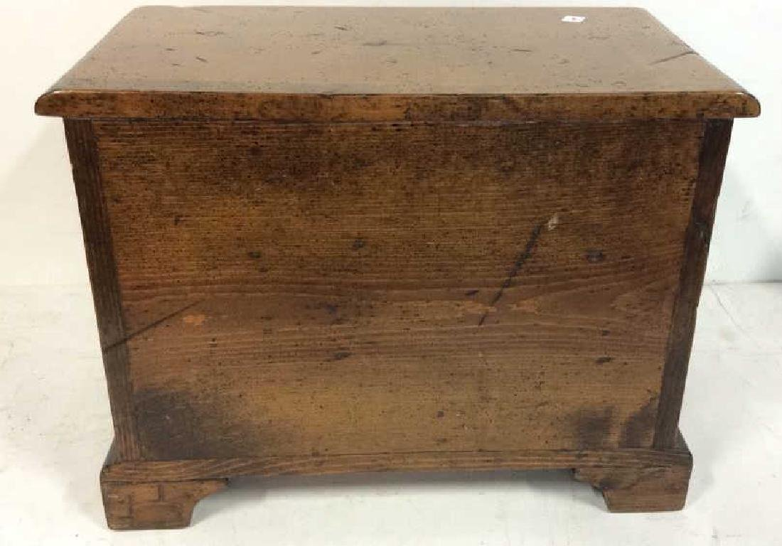 Antique two drawer commode Antique two drawer wood - 6