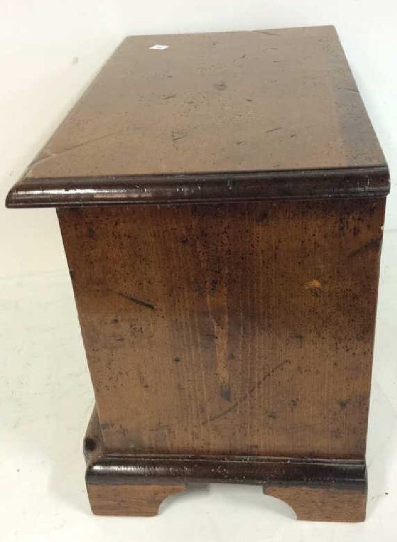 Antique two drawer commode Antique two drawer wood - 7