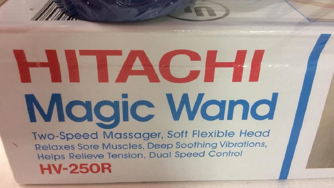 New Hitachi Wand Kit Massager New in box with two - 4