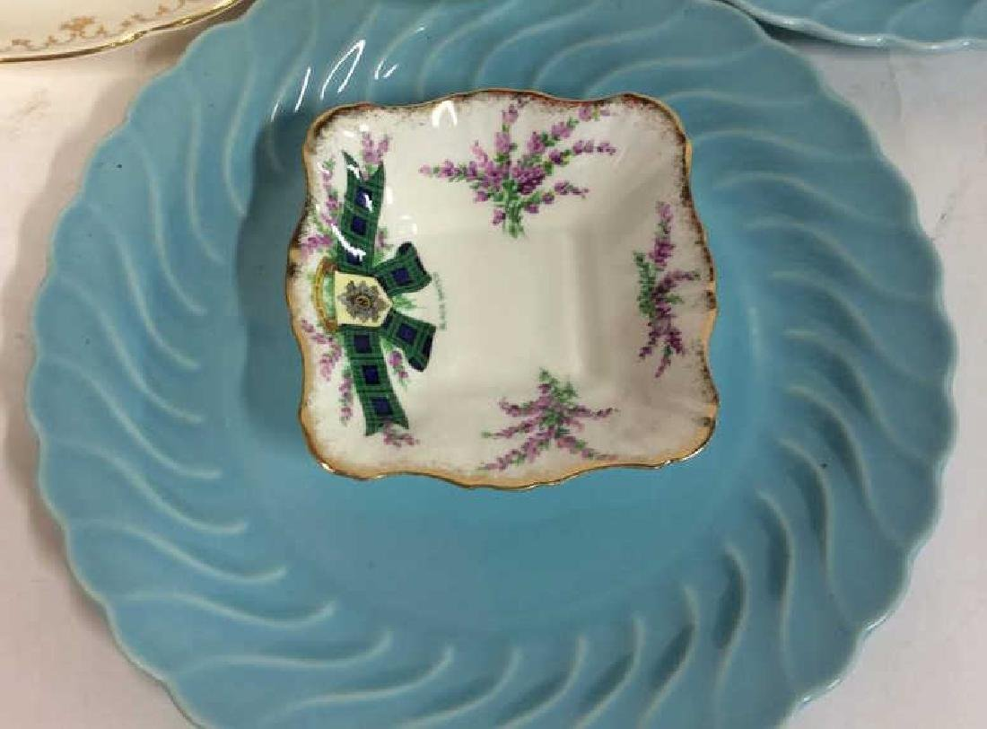 Group Lot Vintage Platters and Plates Assorted plates - 3