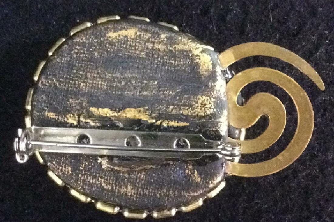 Group of Costume Jewelry Silverplate Trinket Tray Group - 5