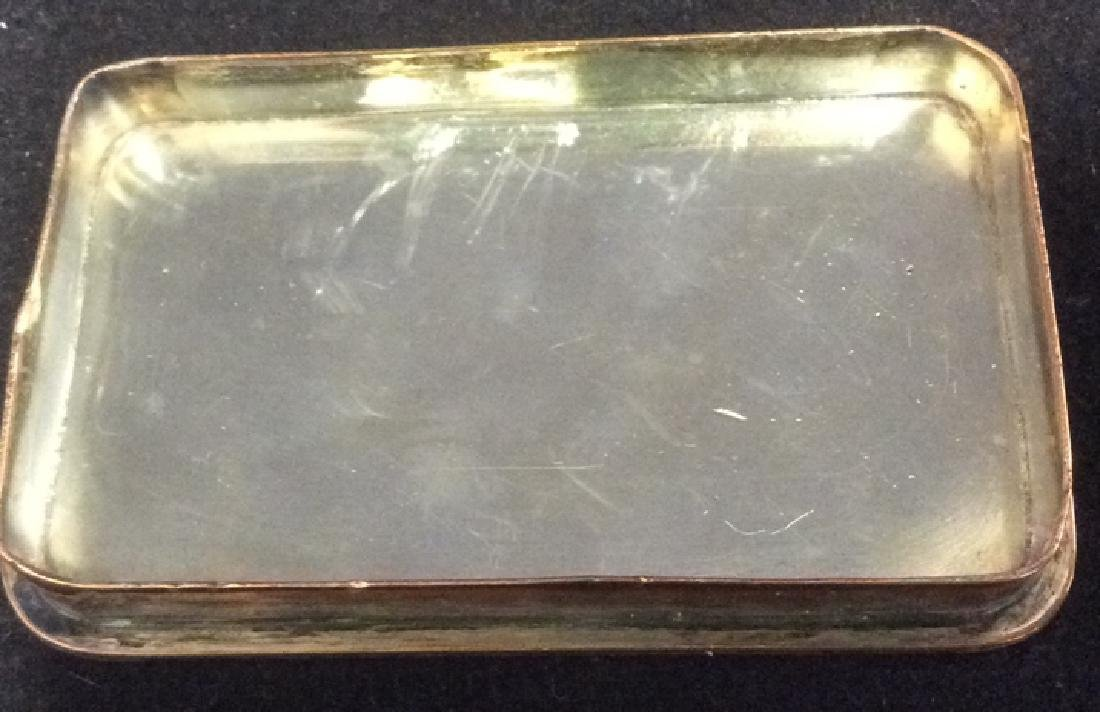 Group of Costume Jewelry Silverplate Trinket Tray Group - 9