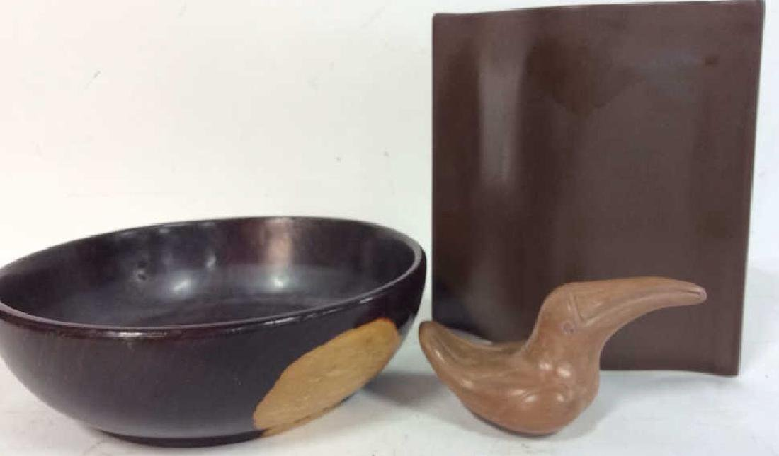 Organic Table Top Decor Lot includes Pillow vase in