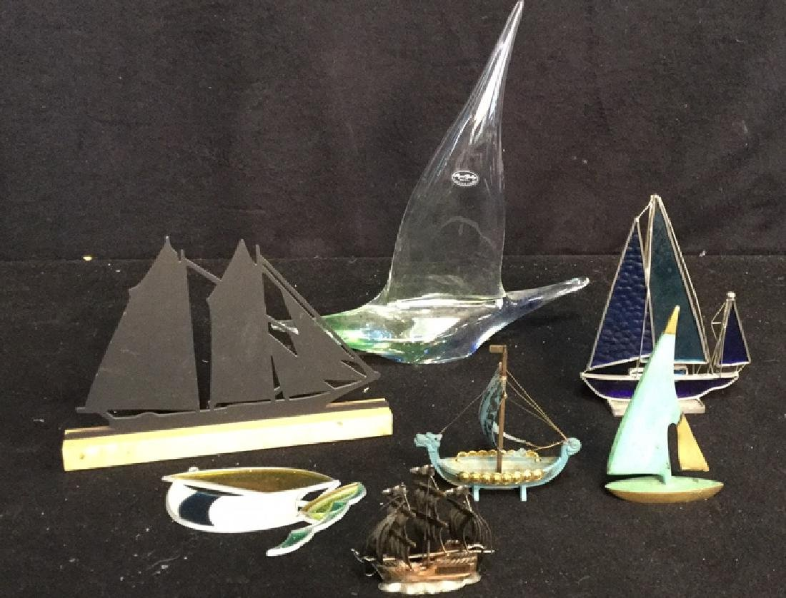Group Nautical Themed Lot Assortment of 7 tabletop - 2