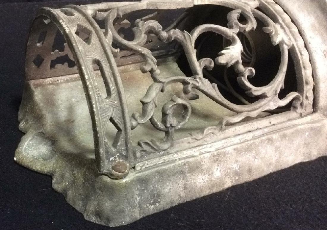 Ornate Scroll Design Metal Indoor Outdoor Sconce - 3