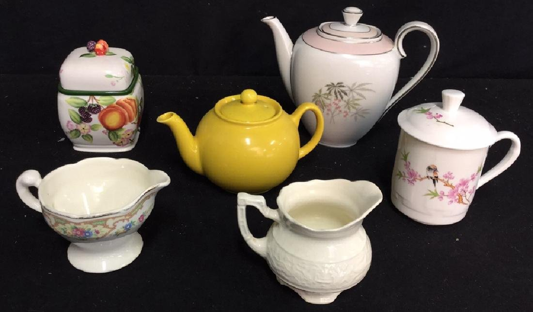 Group Lot Assorted Ceramics And China 6 pieces of