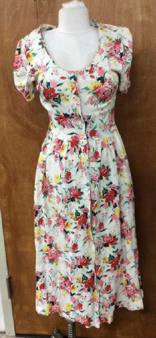 Group Lot Colorful Spring Vintage Ladies Dresses and - 3