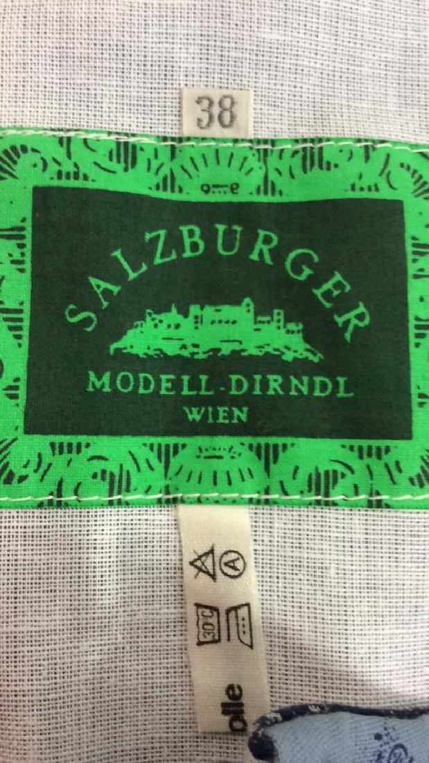 Salzburger Modell Dirndl Wien Vintage Dress Vintage