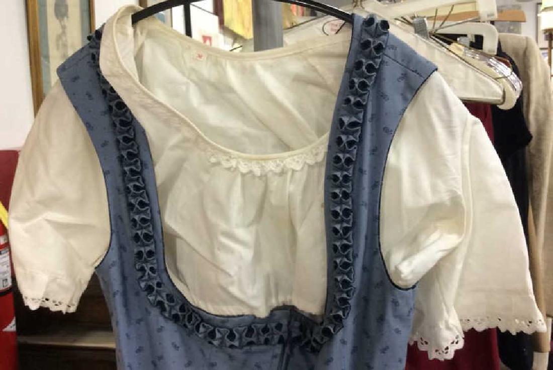 Salzburger Modell Dirndl Wien Vintage Dress Vintage - 7