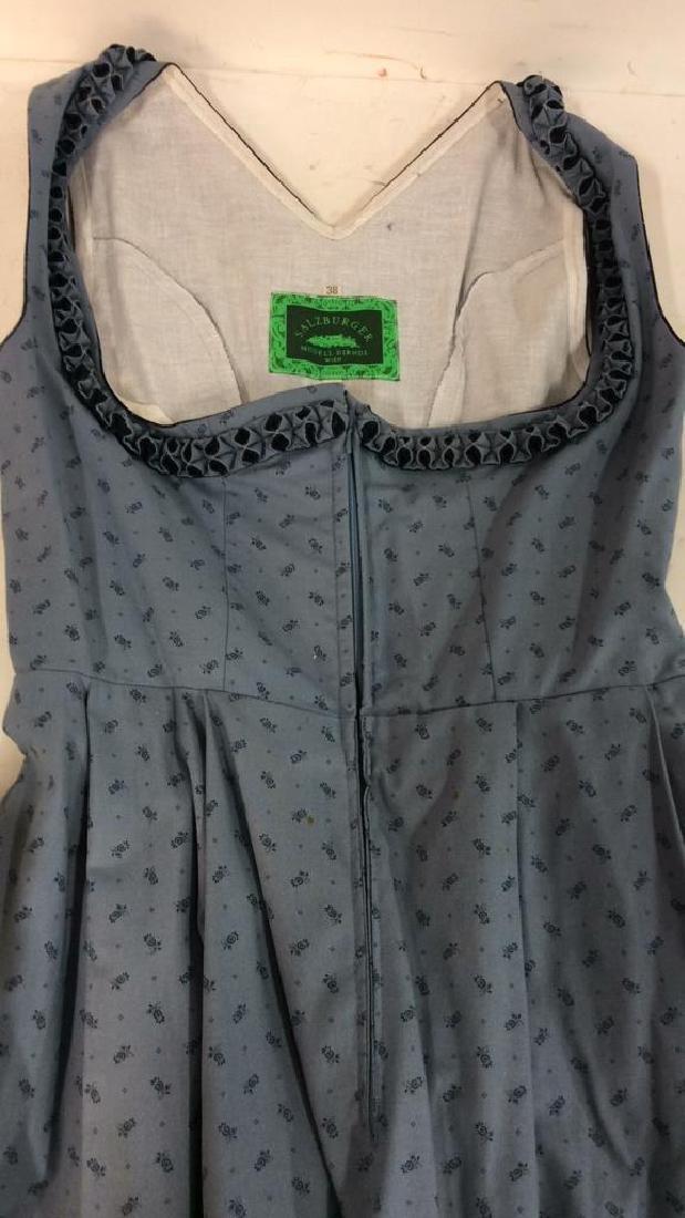 Salzburger Modell Dirndl Wien Vintage Dress Vintage - 8