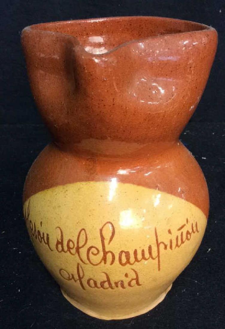 Provence France Ceramic Pitcher Pottery Pitcher in - 3