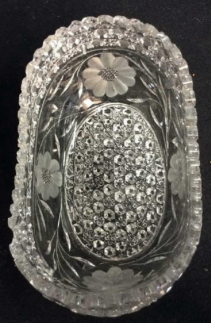 Vintage Cut Brilliant Crystal Bowl Heavily cut Rest all - 4