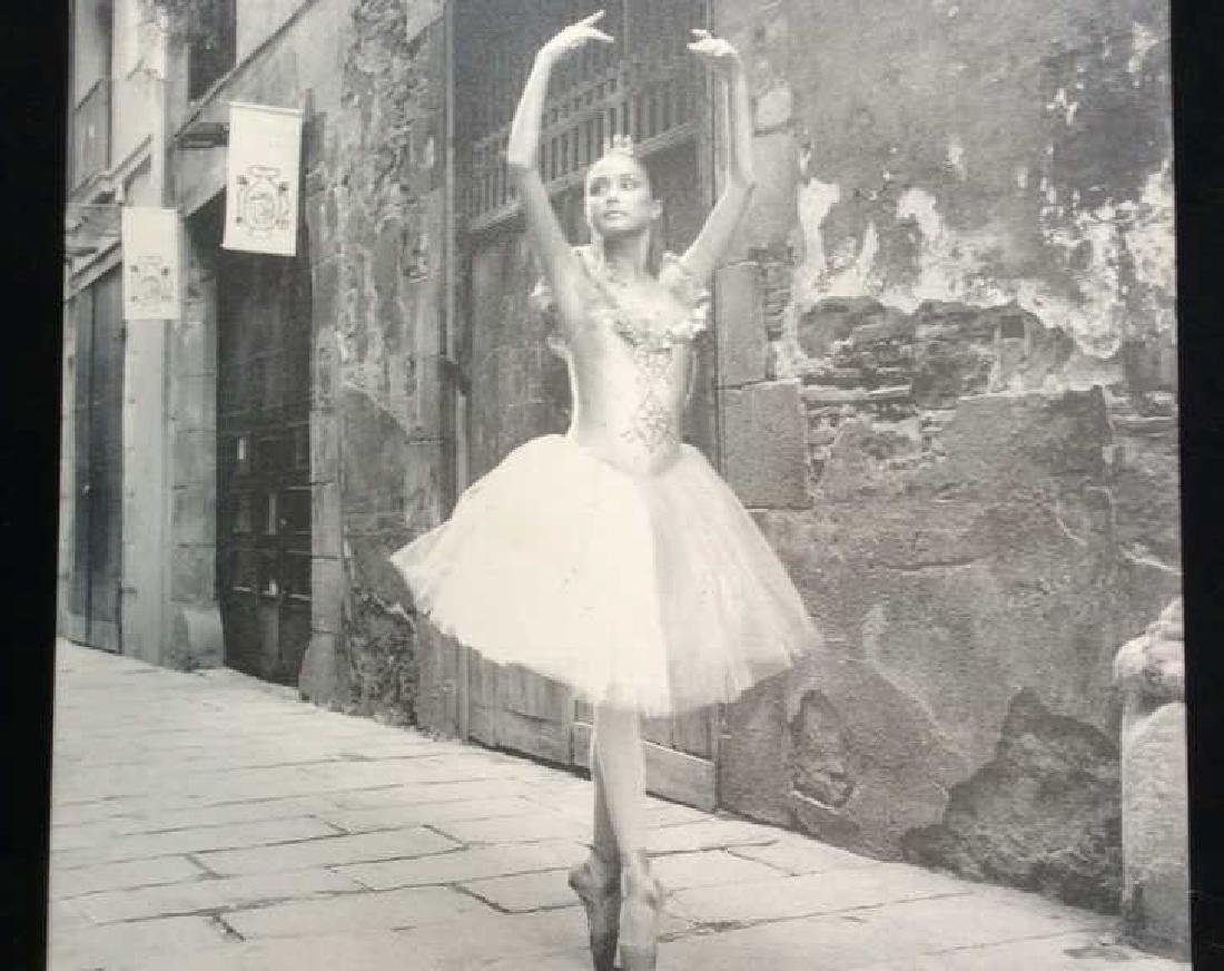 Ballet Photograph Print on Canvas Black and white - 2