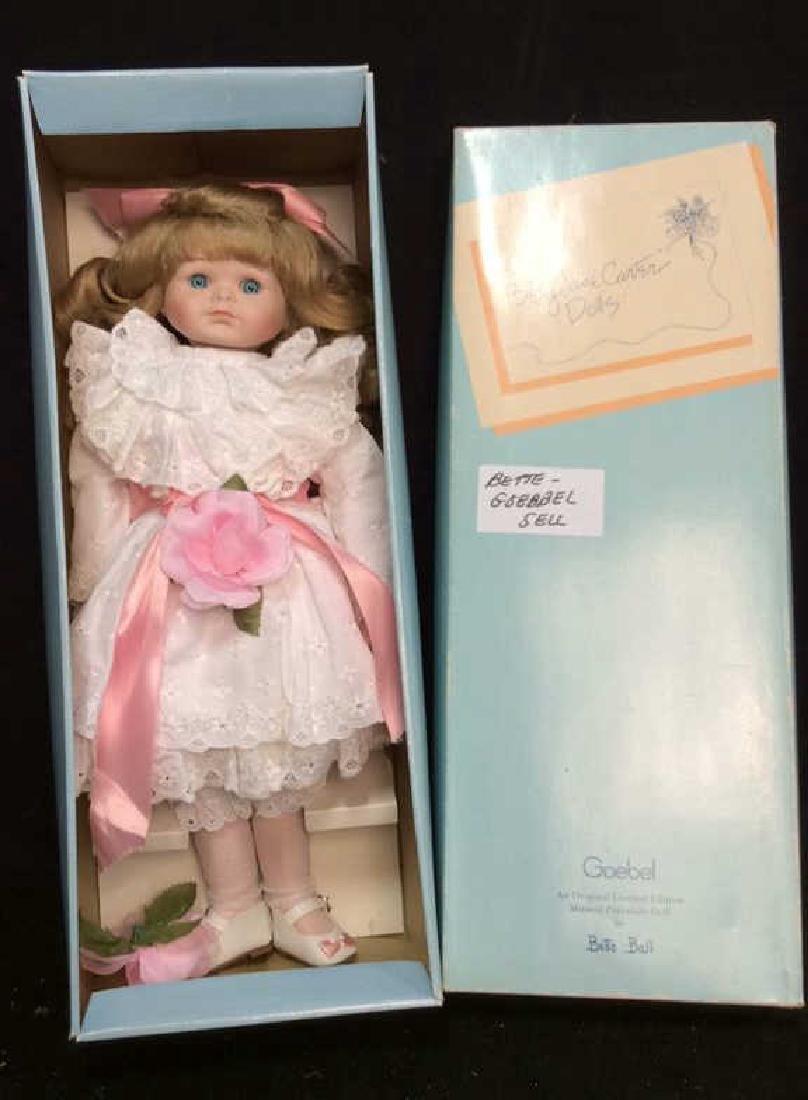 Goebels Ltd Edition Musical Porcelain Doll With