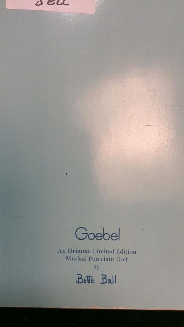 Goebels Ltd Edition Musical Porcelain Doll With - 2