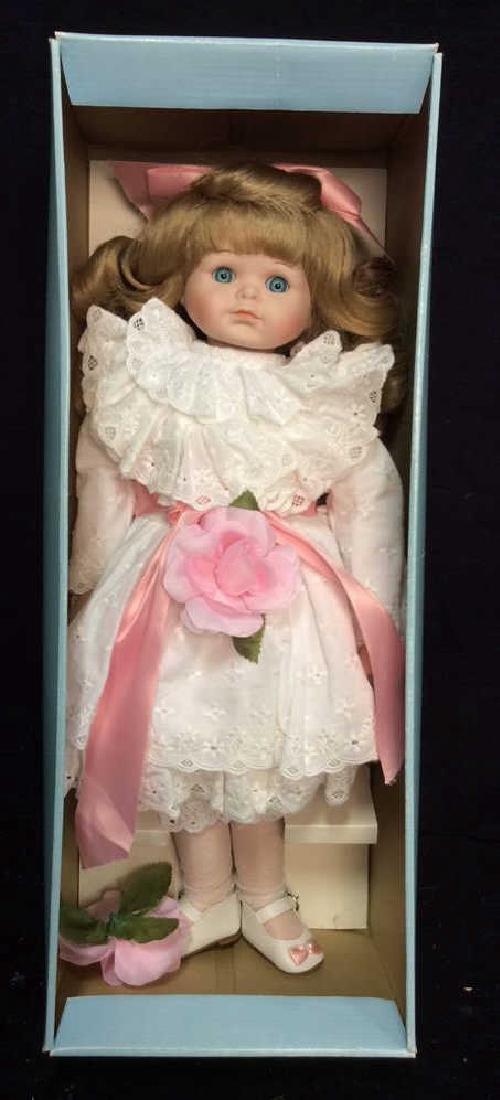 Goebels Ltd Edition Musical Porcelain Doll With - 3