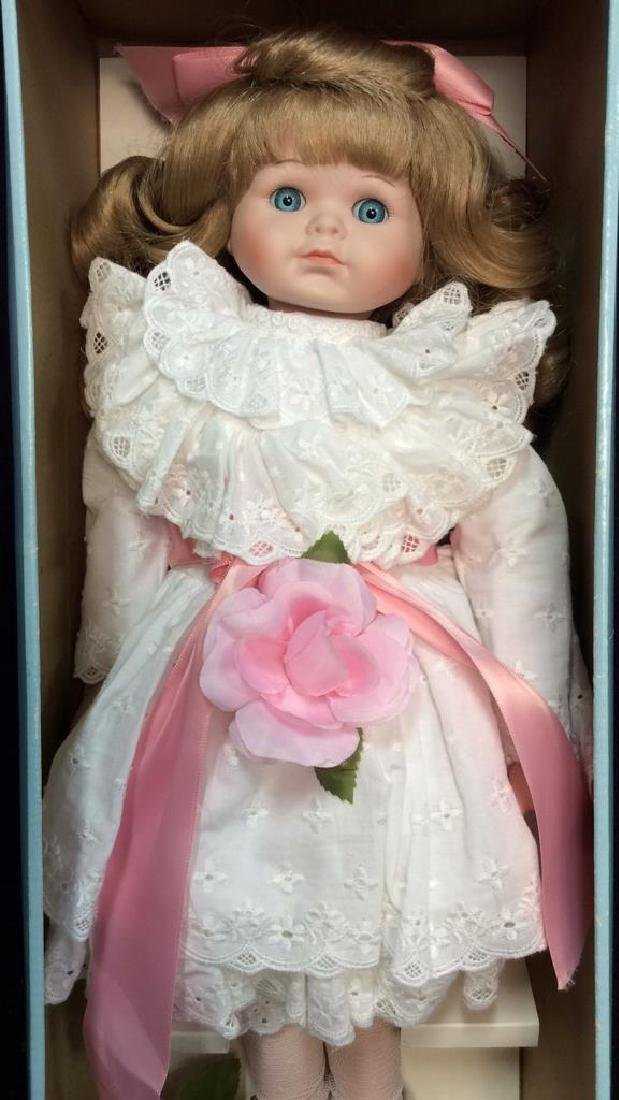 Goebels Ltd Edition Musical Porcelain Doll With - 4