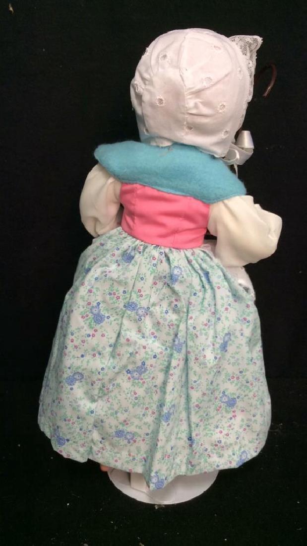 Edwin Knowles Porcelain Bi Peep Doll with Box - 7