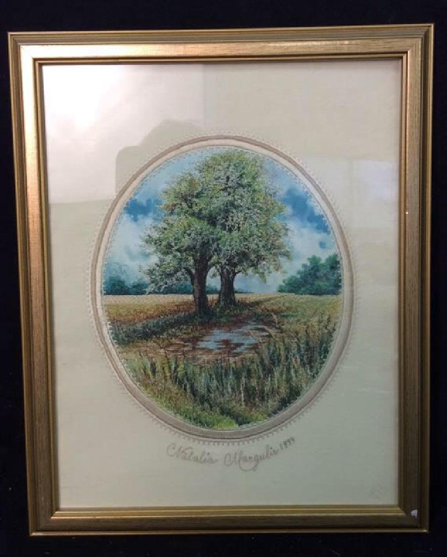 Natalia Margulis Framed Embroidery Framed embroidery