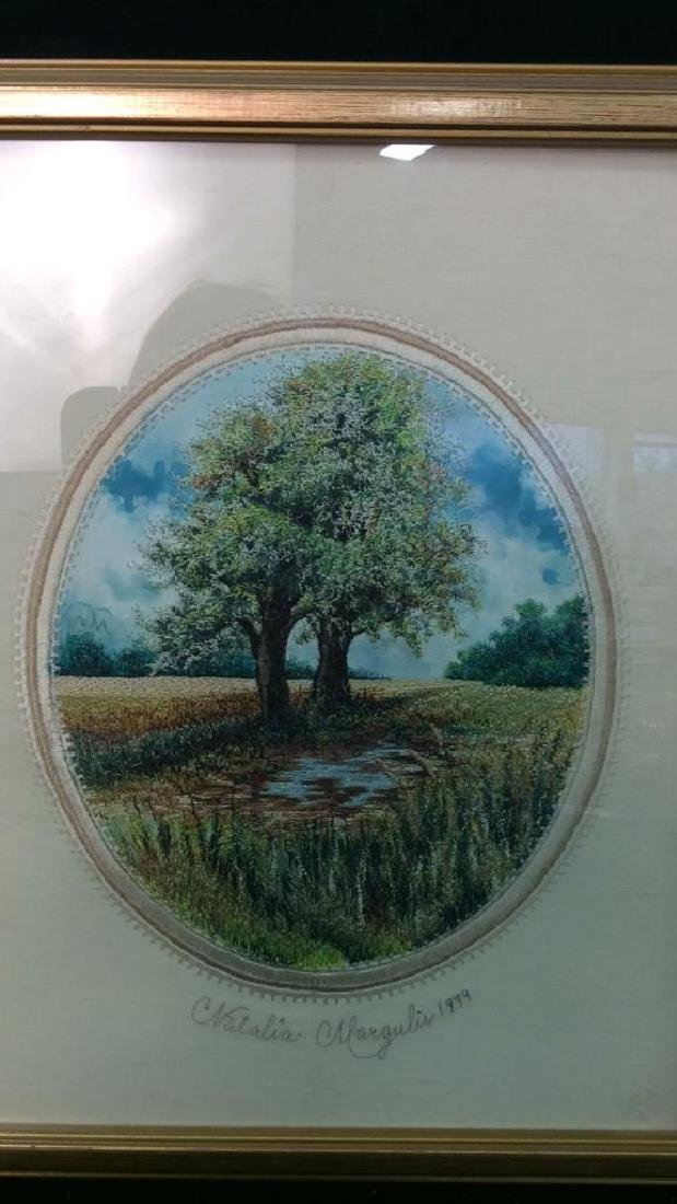 Natalia Margulis Framed Embroidery Framed embroidery - 2