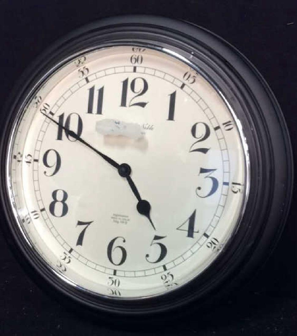 Sterling and Noble Wall Clock Measures diameter 16