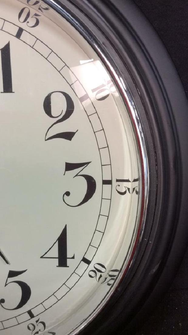 Sterling and Noble Wall Clock Measures diameter 16 - 4