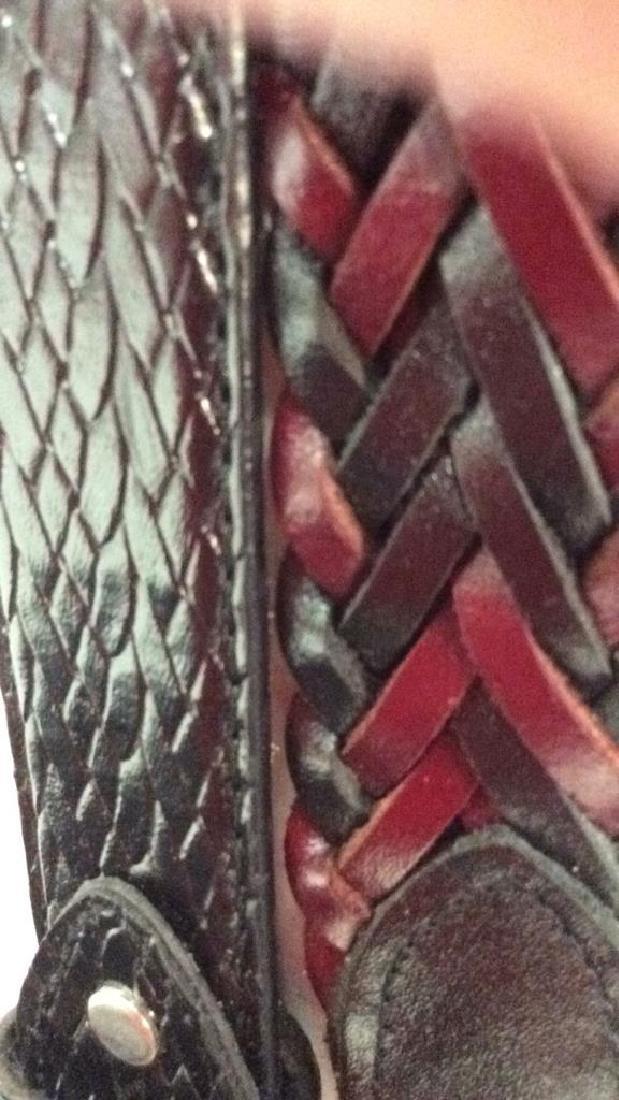 Box Lot Vintage Ladies abelts. Leather Box Lot of - 3