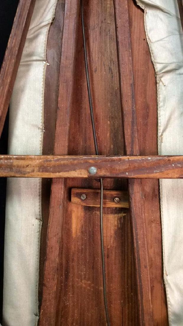 Vintage ironing Board Wood Frame/Stand Vintage ironing - 3