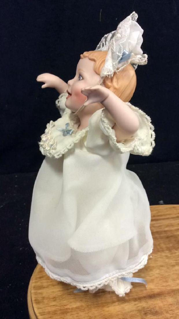 Collectible Baby Porcelain Doll In period baby - 5