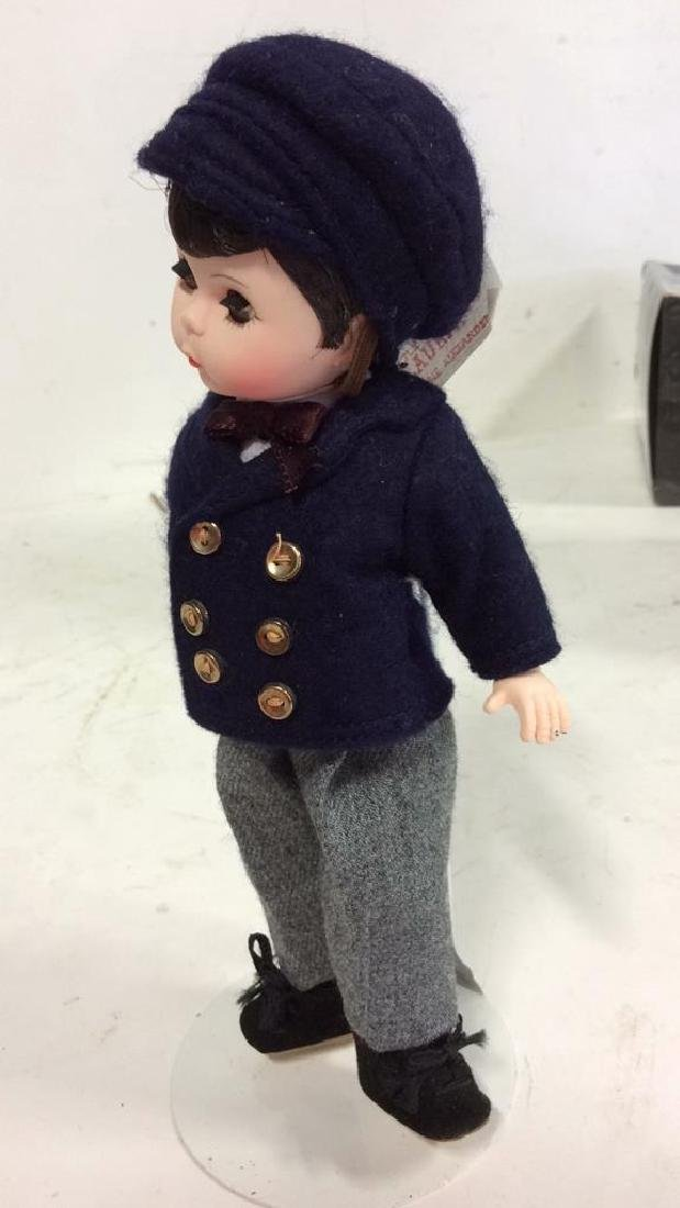 3 Collectible Costumed Dolls In period costumes of - 7