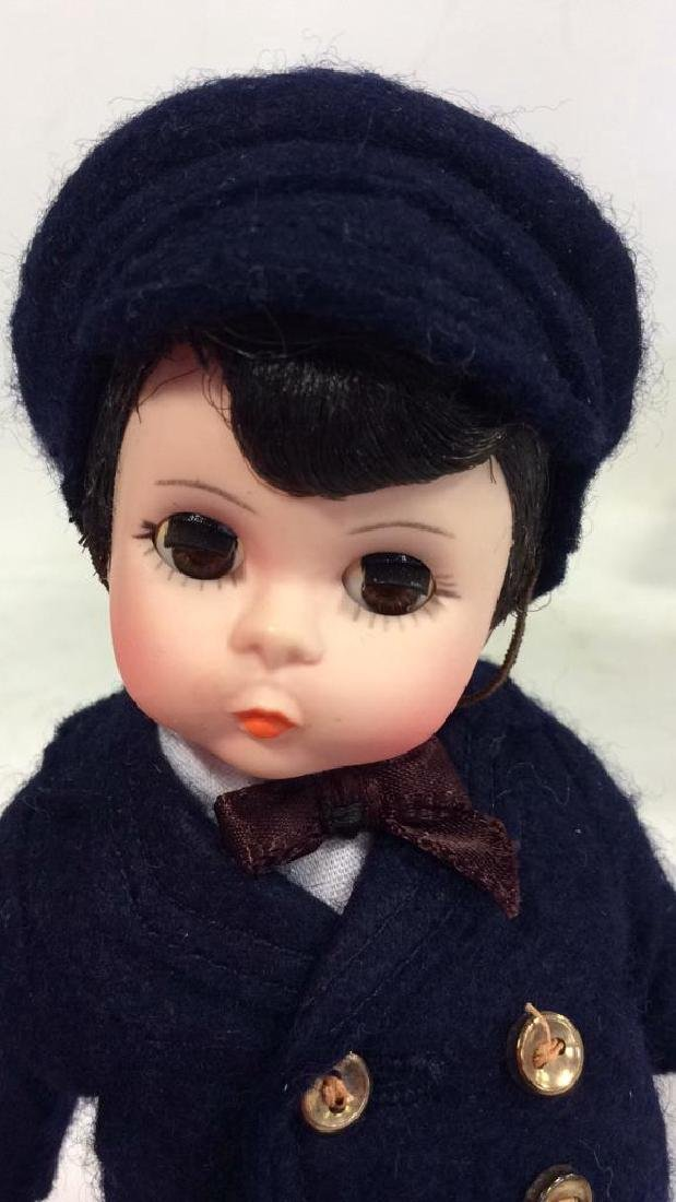3 Collectible Costumed Dolls In period costumes of - 8