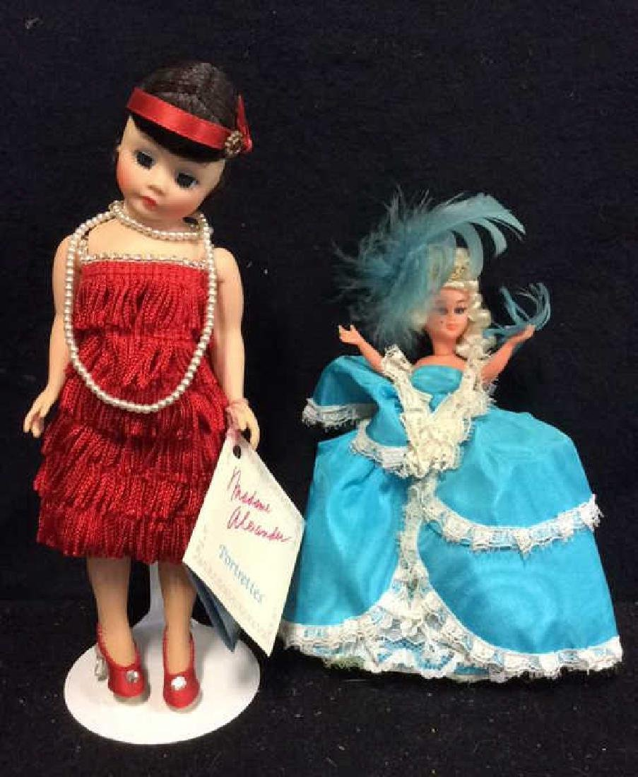 Madame Alexander & France 2 Dools Madame Alexander doll