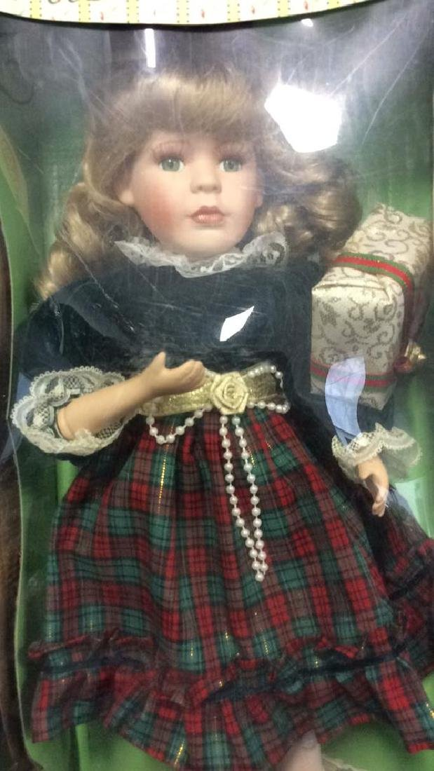 Seymour Mann Collectible Porcelain Doll w Box Hand - 2