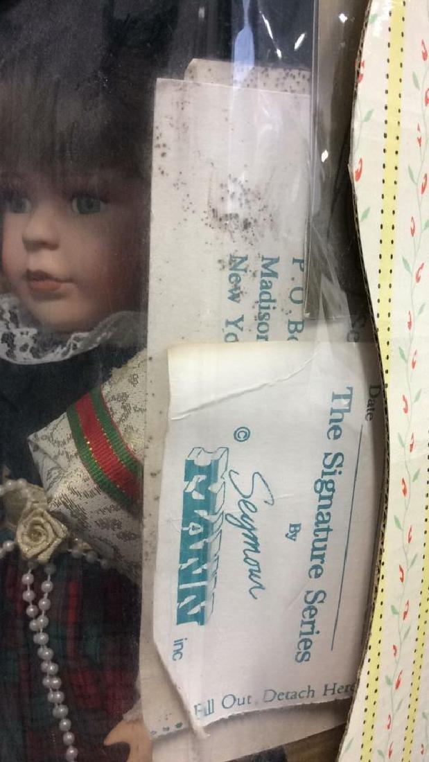 Seymour Mann Collectible Porcelain Doll w Box Hand - 4