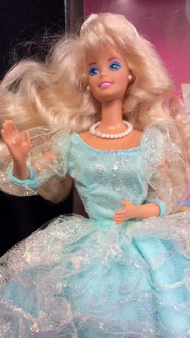 2 Barbie Doll Collectibles Boxes Book Snow Princess - 4