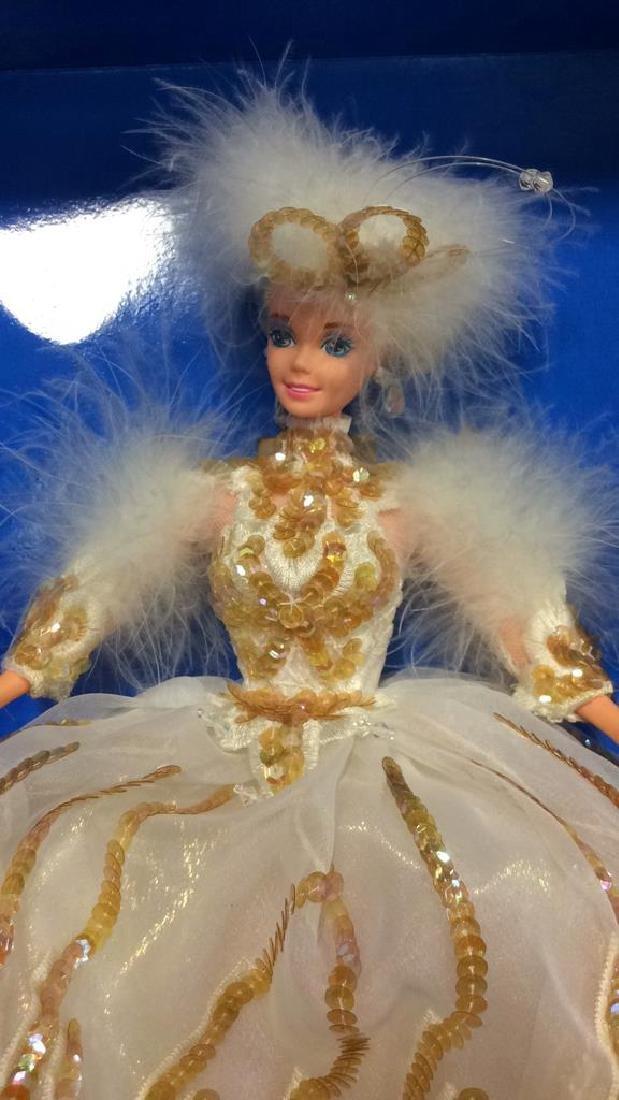 2 Barbie Doll Collectibles Boxes Book Snow Princess - 6