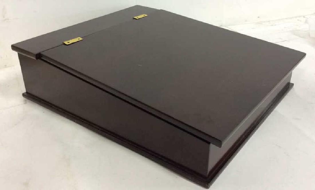 Bombay & Co lap Desk w Box , file holder Lap desk with - 2