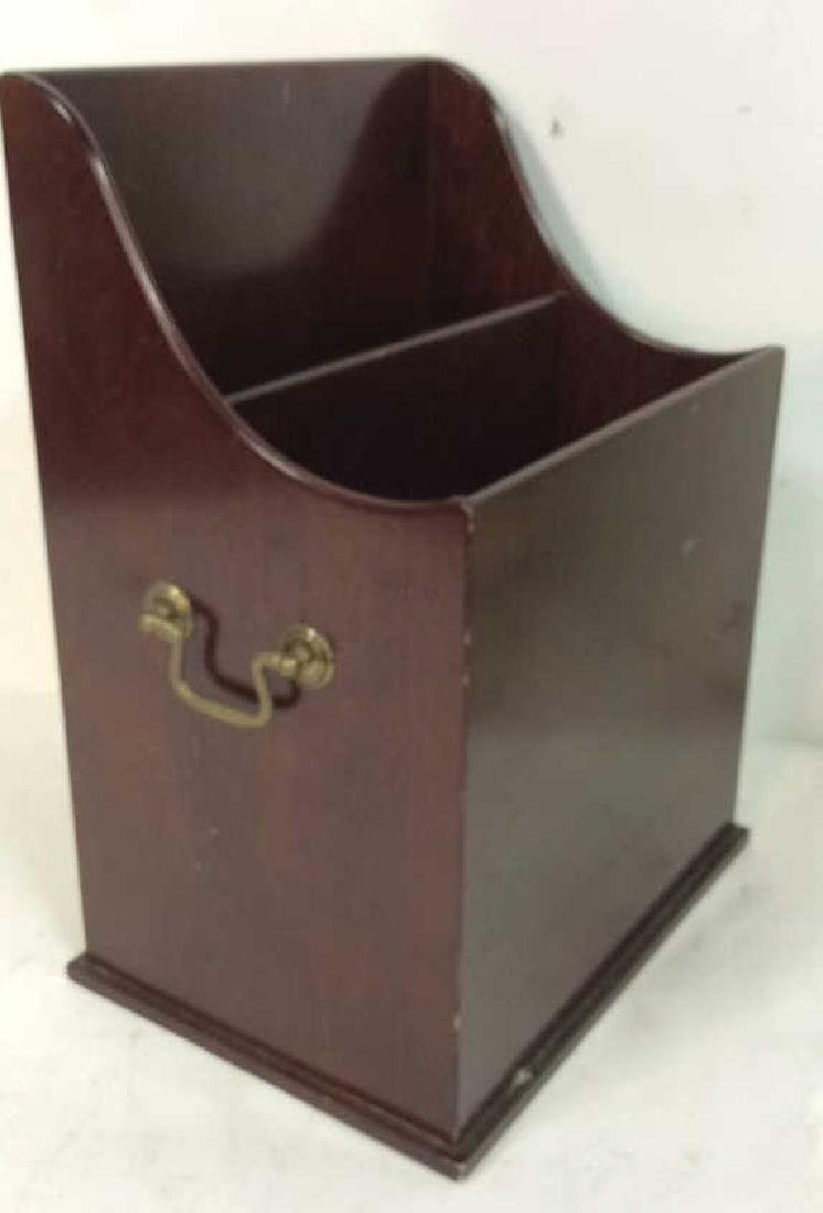 Bombay & Co lap Desk w Box , file holder Lap desk with - 6