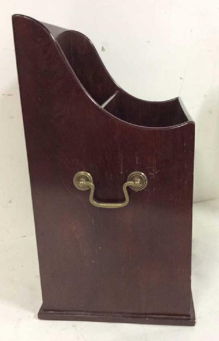 Bombay & Co lap Desk w Box , file holder Lap desk with - 7