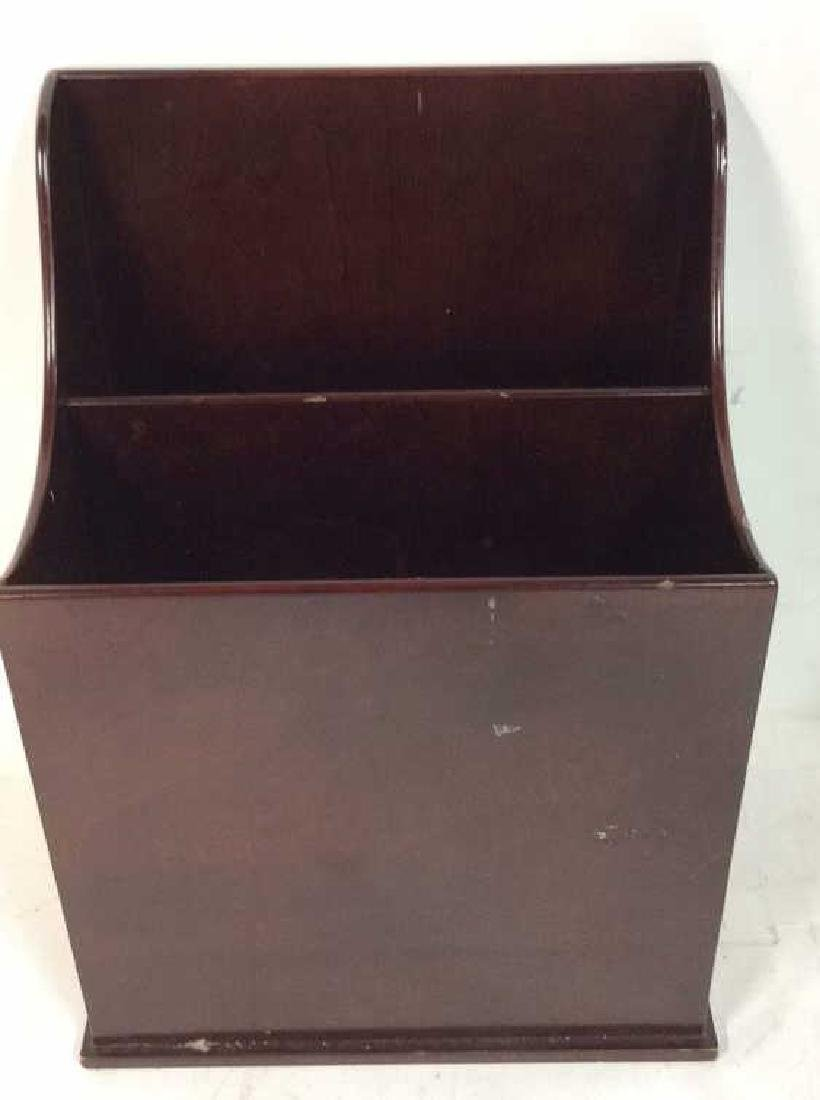 Bombay & Co lap Desk w Box , file holder Lap desk with - 8