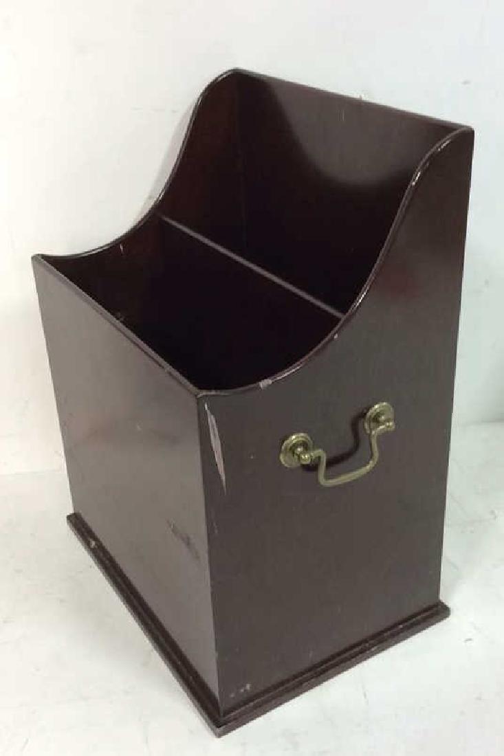 Bombay & Co lap Desk w Box , file holder Lap desk with - 9