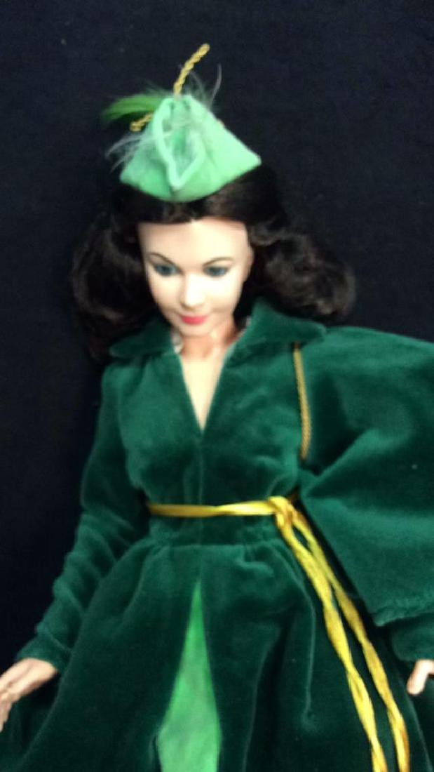 2 Collectible Dolls Painted Porcelain and Costumed - 7