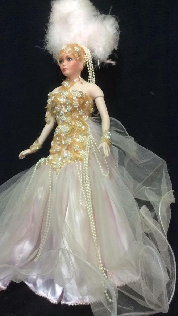 Porcelain Vegas Doll with Original Box Porcelain Vegas