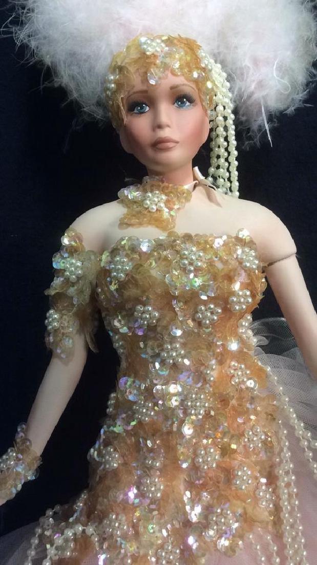Porcelain Vegas Doll with Original Box Porcelain Vegas - 3