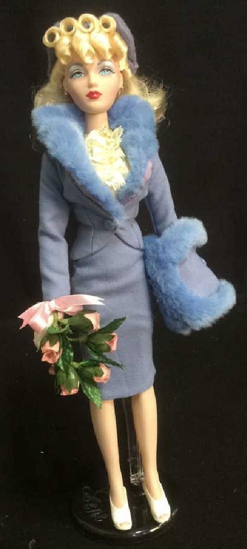 Gene Platnum Blonde Collectible Doll Platnum Blonde