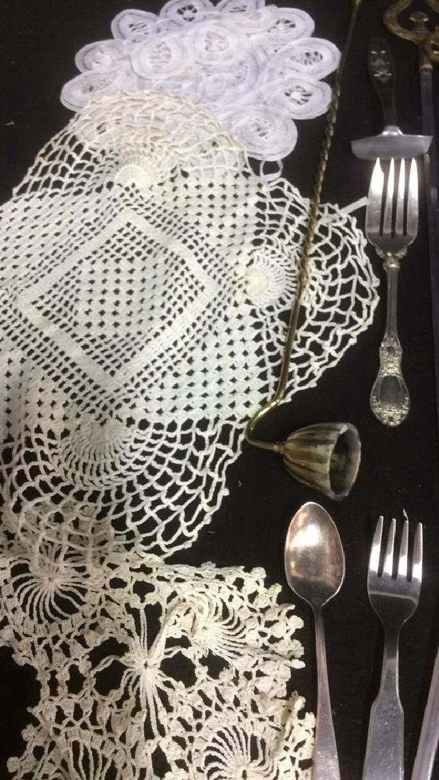 Group Lot Vintage Table Top Assorted Accessories - 10