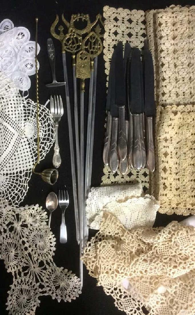 Group Lot Vintage Table Top Assorted Accessories - 6