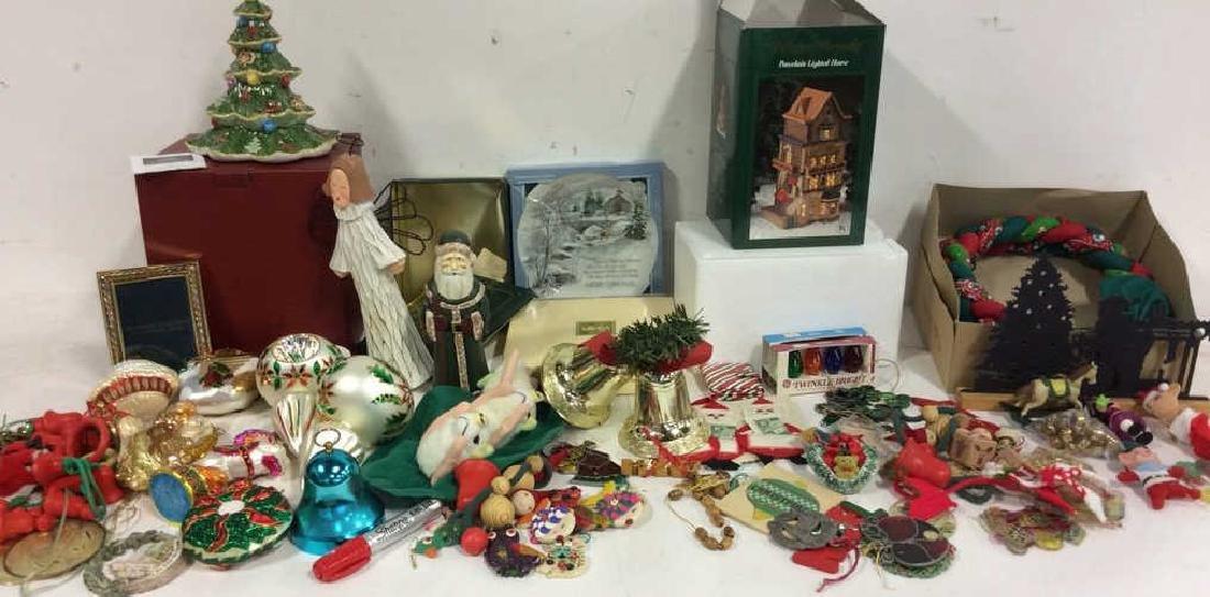 Group Lot Vintage Christmas Decor