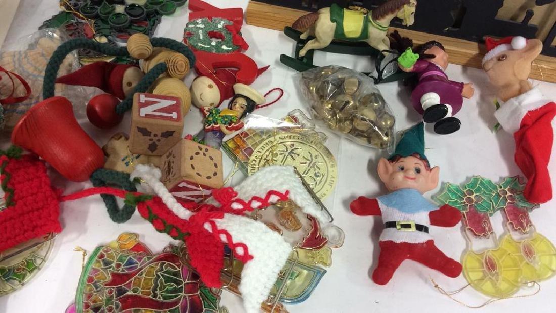 Group Lot Vintage Christmas Decor - 7
