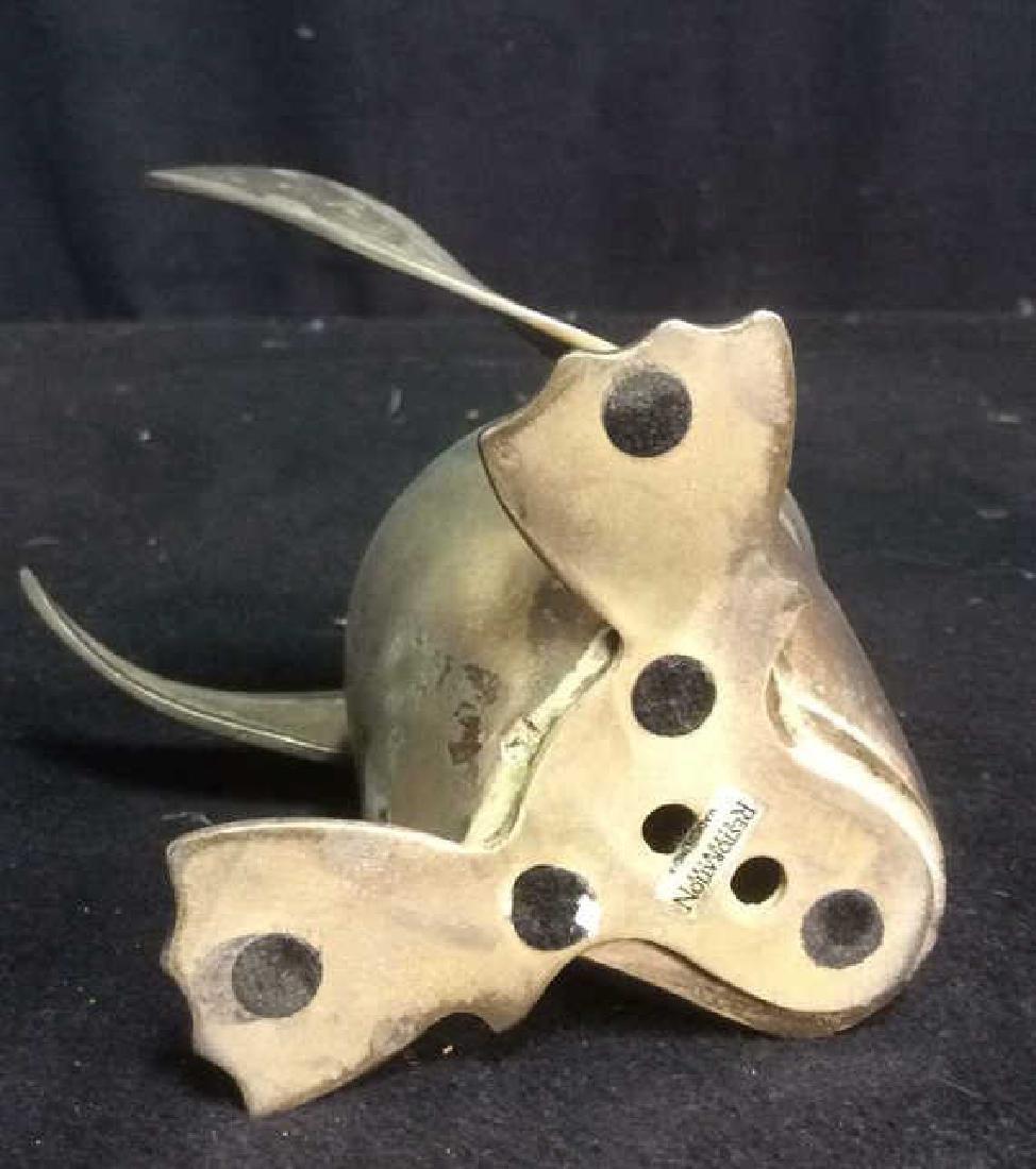Penguin Silver Plate Figurine - 5